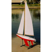 84001 - Soling 1 Meter Sailboat Kit