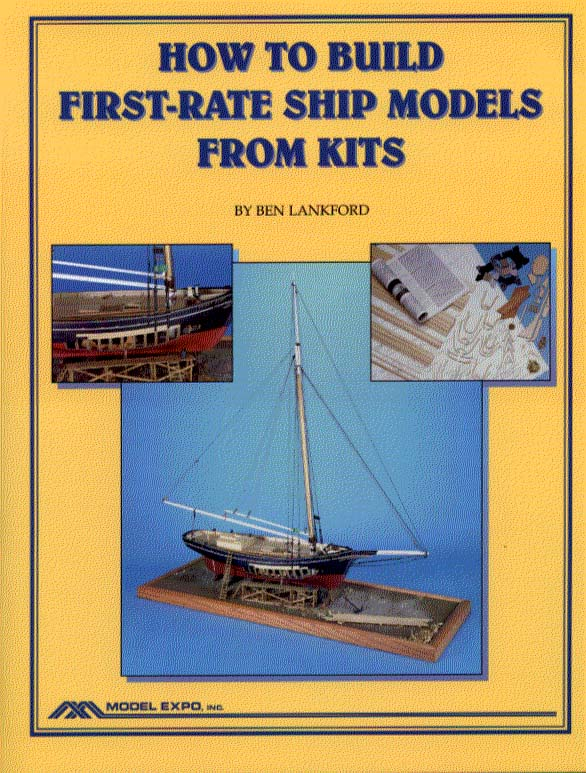 10008 - How To Build First Rate Ship Models from Kits