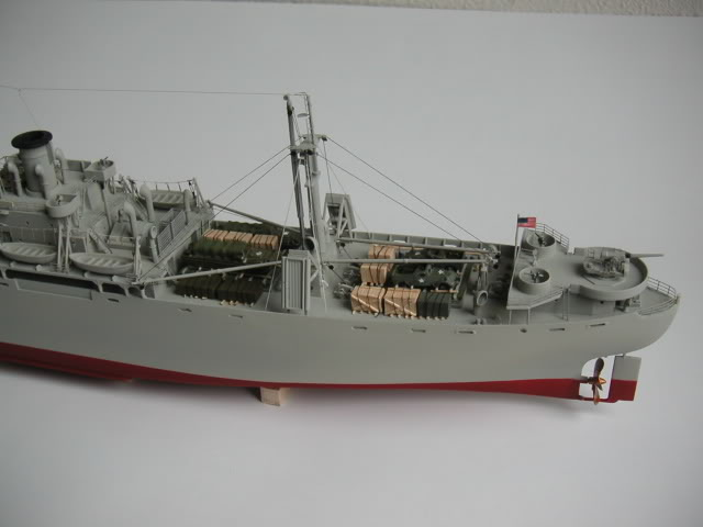 Ship-Models-Wooden-Kits-Cast-Your-Anchor-Blue-Jacket-Liberty-Ship