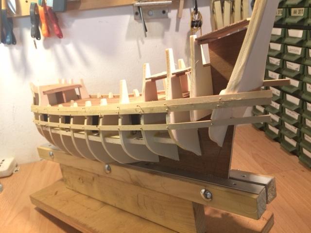 Ship Models Wooden Kits Cast Your Anchor Corel Halfmoon