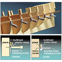 44003 - Hull Planking Clamp Set