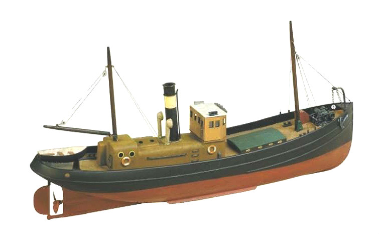 Ship-Models-Wooden-Kits-Cast-Your-Anchor-Model-Slipways-Steam-Drifter-SM25-380mm - Cast Your ...