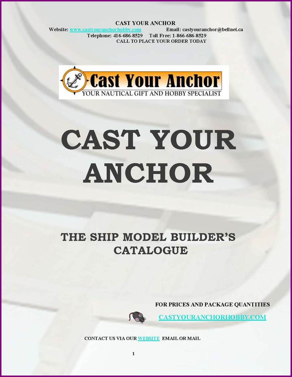 52012 - Ship Model Builders Catalogue