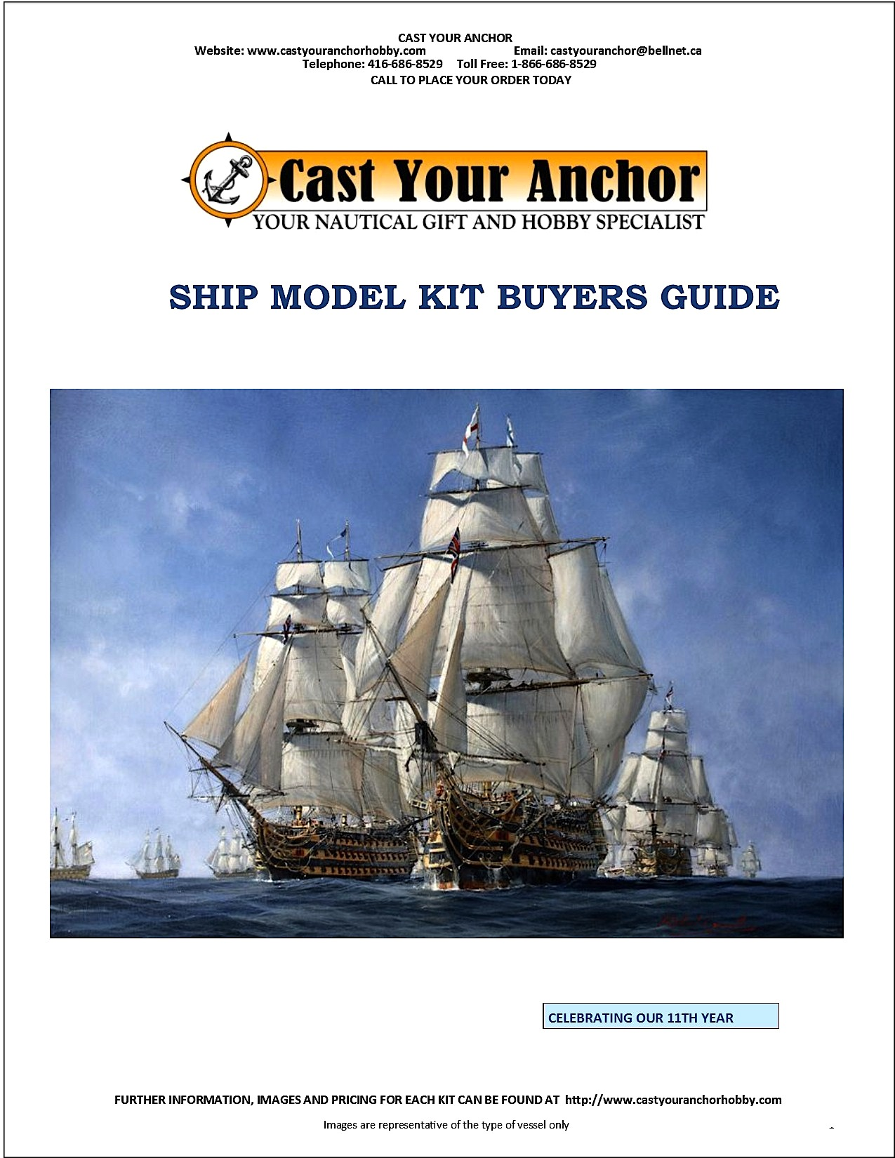 52013 - Ship Model Kit Buyer's Guide