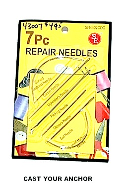 43007 - Sailcloth Sewing Needles