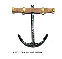 30116 - Early 18th Century Anchor - 75mm Length