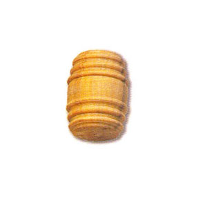 30208 - Boxwood Barrel – 12mm