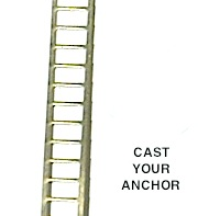 34808 - Ladder, Brass, Stamped - 200mm