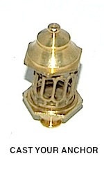 32710 - Lantern, Brass - 22mm