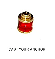 32806 - Navigation Light - Red Lens- 8mm