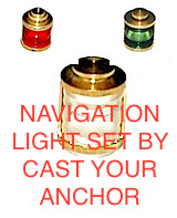 32813 - Masthead Light Set - 360 Degrees - 8mm