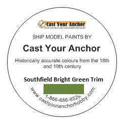 65030 - Southfield Bright Green Trim Paint