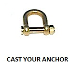 35327 - Shackle with Threaded Pin - 12.2mm