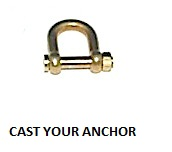 35328 - Shackle with Threaded Pin - 12.2mm