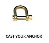 35329 - Shackle with Threaded Pin - 15mm