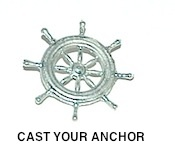 34310 - Ships Wheel - Gloucester Style- 22mm