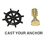 34316 - Ships Wheel w/ Pedestal - 15mm