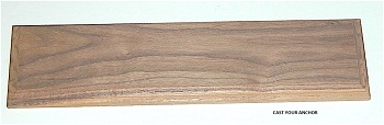 34204 - Display Base, Walnut - 300mm