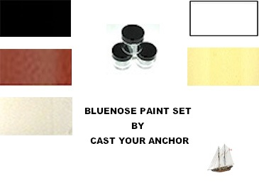 66000 - Bluenose Paint Set