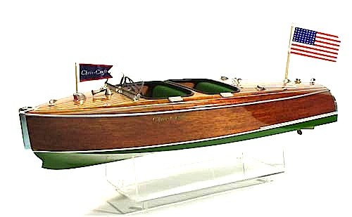 DU1705 - Barrelback Chris Craft