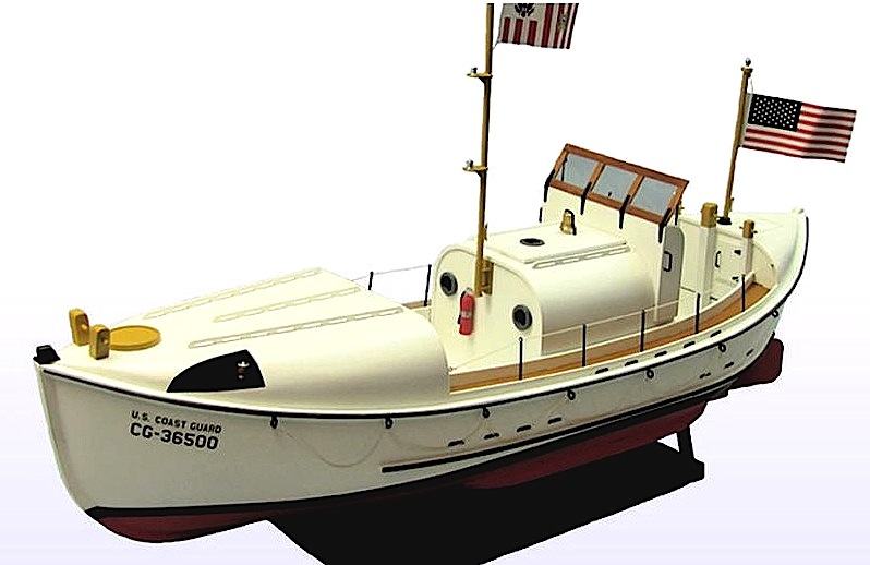 DU1258 - Coast Guard Lifeboat