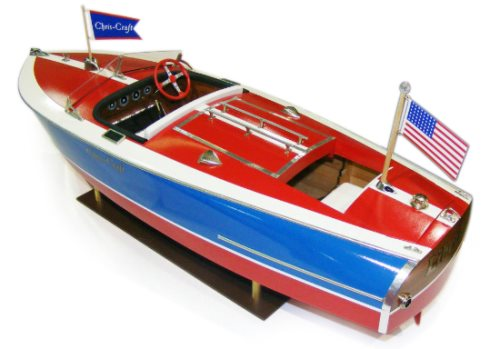DU1263 - Painted Racer Runabout