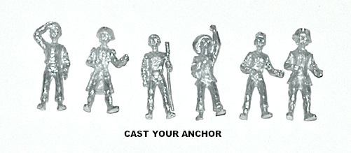 36401 - Marine Figures set - 1:64 scale