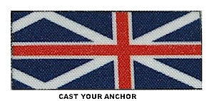 35163 - United Kingdom Flag 1606 - 1801