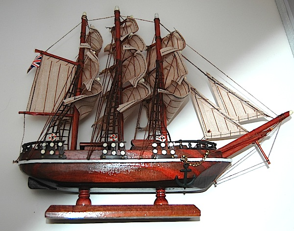 97614 - Cutty Sark  Completed Ship Model