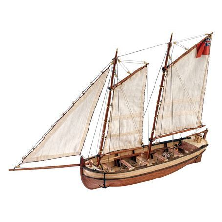 AL19015 - Endeavour Long Boat