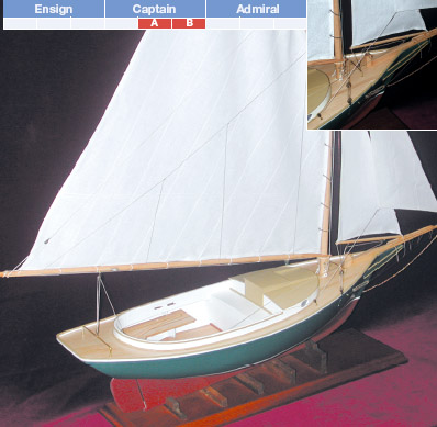 KLW115A - Friendship Sloop, Large