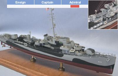 Ship-Models-Wooden-Kits-Cast-Your-Anchor-Blue-Jacket-Ship Models