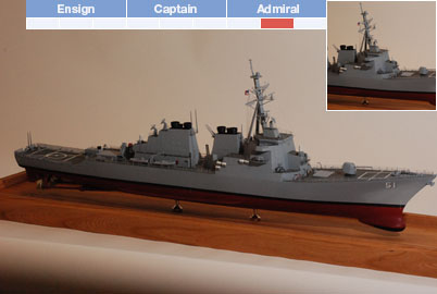 K1077 - Kidd - Fletcher Class Destroyer