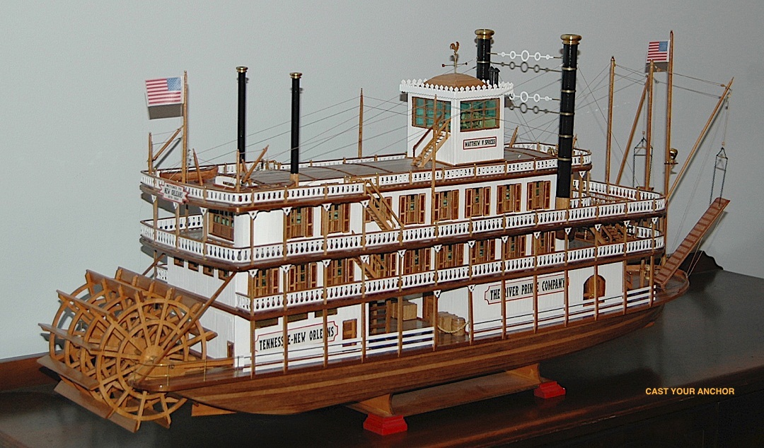 Cedric1 - 1870 Mississippi Riverboat