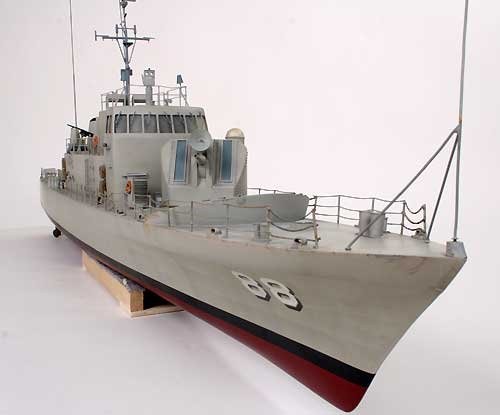 DU1218 - USS Crockett Navy Gunboat