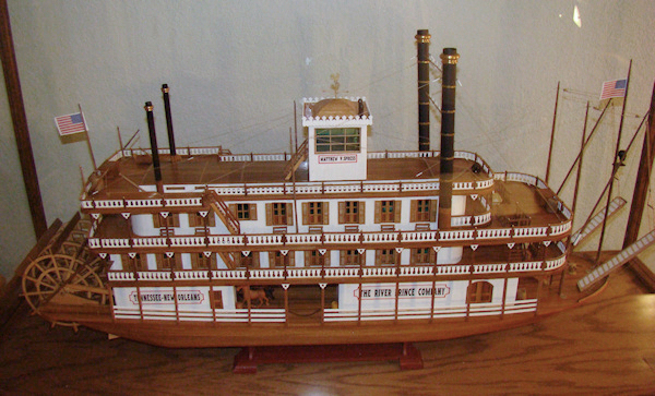 MA734 - Mississippi Riverboat