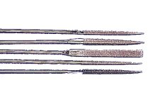 41043 - Diamond Coated Needle File Set