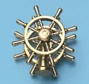 34338 - Twin Ships Wheel - 25mm